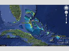 Bahamas Map 3D Earth Map