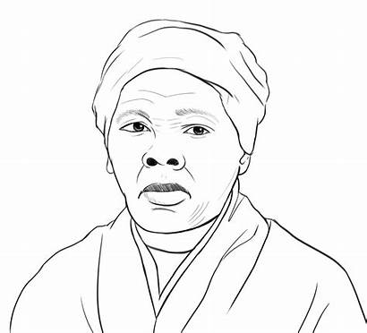 Harriet Tubman Coloring Pages Printable Fiver Update