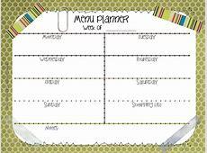 Printable Meal Planners