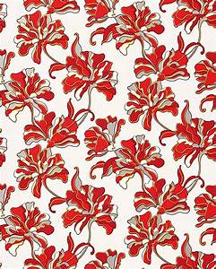 Flowers textured wall covering floral EDEM 072-26 ...
