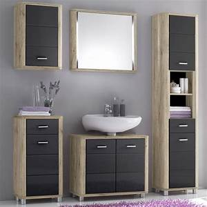 Kommode Eiche San Remo : badezimmer vital bad kommode hochschrank unterschrank spiegel san remo eiche ebay ~ Markanthonyermac.com Haus und Dekorationen