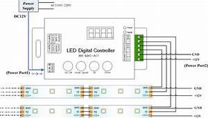 12v Addressable Led Wiring Diagram