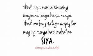 QUOTES ABOUT LOVE HURTS TAGALOG TUMBLR image quotes at ...