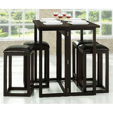 leeds folding pub table with backless stools dcg stores