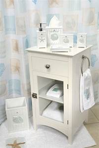 85 ideas about nautical bathroom decor theydesignnet With beachy bathroom accessories