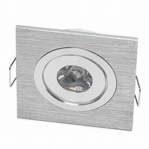 Micro Recessed Lights Micro 1w Square Led Recessed Downlight Gimbal Head