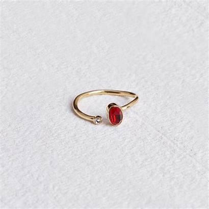 Birthstone Rings Capsuljewelry