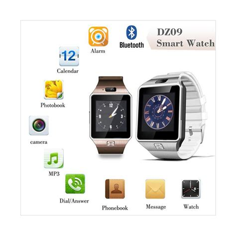 Smart Dz09 Smart U9 smart dz09 u9 smartwatch silver gsm memory card