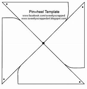 early play templates: Make a pinwheel printables and tutorials