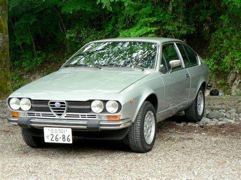 Alfa Romeo Alfetta Technical Details History Photos On