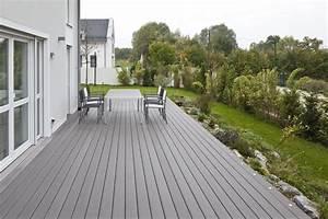 Terrasse Wpc Grau : wpc timbertech grau bs holzdesign ~ Markanthonyermac.com Haus und Dekorationen