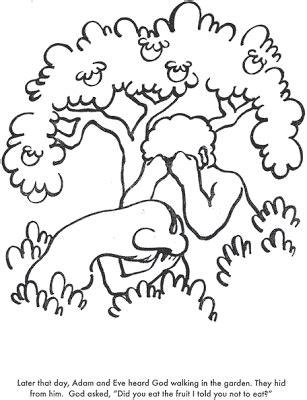 Sekolah Minggu Ceria: Adam dan Hawa (Manusia) Jatuh ke