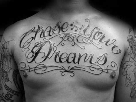 dream tattoo designs  men word ink ideas