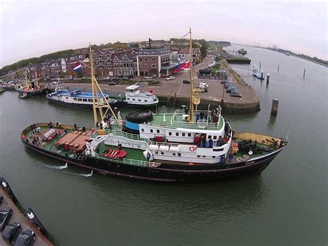 Sleepboot De Elbe by Zeesleper Elbe Maassluis Youtube
