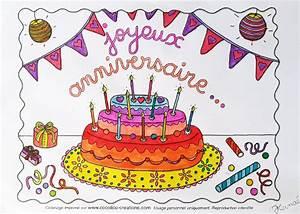 Dessin Gateau Anniversaire : dessin de gateau d anniversaire a colorier les recettes ~ Melissatoandfro.com Idées de Décoration