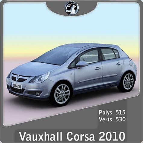 3d Max 2010 Vauxhall Opel Corsa