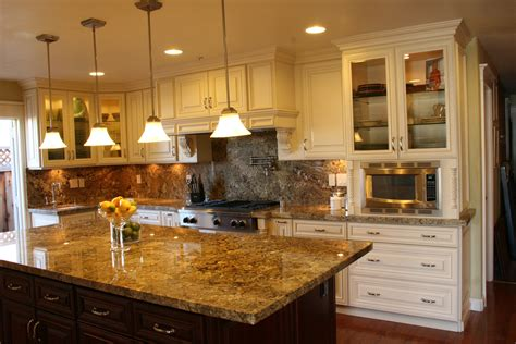 copper granite countertops brown hairs
