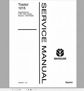 New Holland 8160 8260 8360 8560 Tractor Workshop Service Repair Manual 1 Download