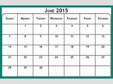 Desktop Wallpapers Calendar June 2015 Wallpaper Cave