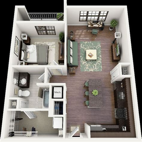 plans   bedroom small house google search