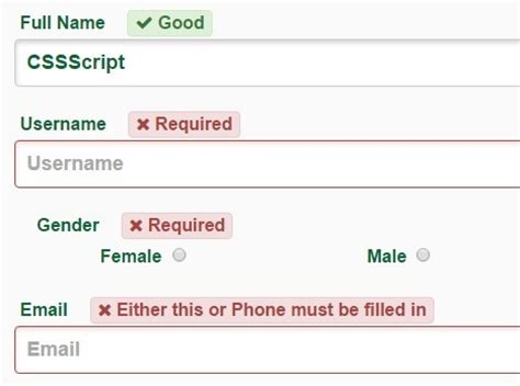 javascript form validation script simple custom form validation javascript library