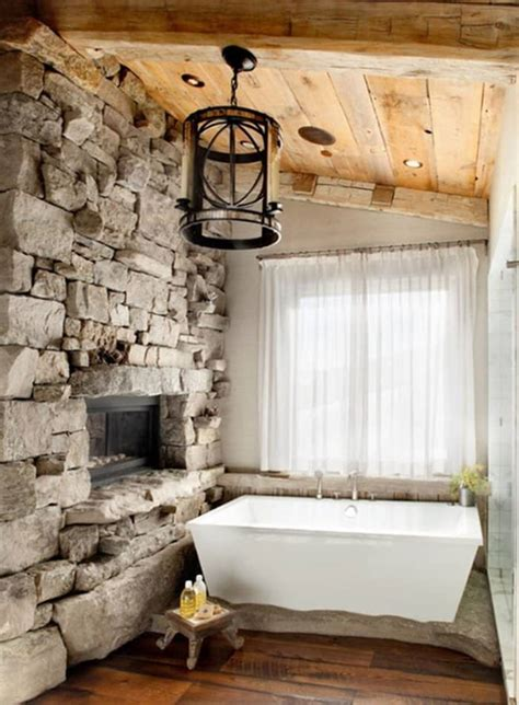 rustic bathroom designs   love