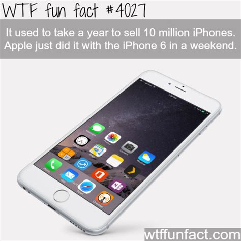 iphone 6 facts iphone 6 sales facts