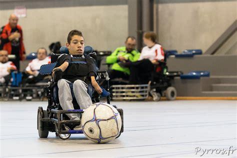 un tournoi amical de foot fauteuil 224 toulouse