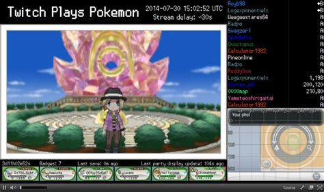 Twitch Plays Pokemon Know Your Meme - photo at sundial in anistar city twitch plays pokemon know your meme
