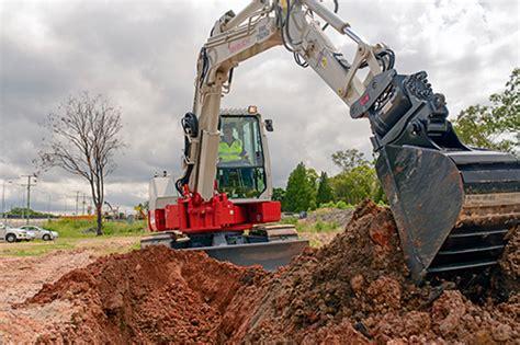 trade earthmovers review  takeuchi tbfr excavator semco group