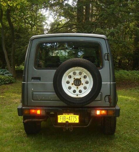 Suzuki Samurai Hardtop For Sale by 1988 Suzuki Samurai Hardtop Classic 1988 Suzuki Samurai