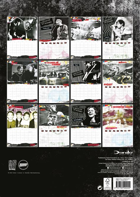seconds summer calendars ukposterseuroposters