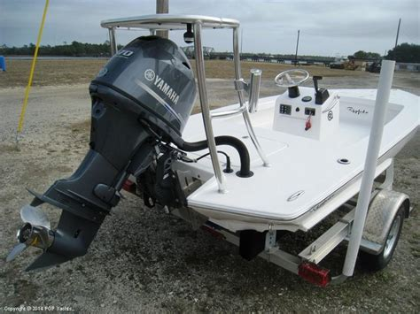 Riptide Flats Boats by 2014 Used Riptide 18 Flats Fishing Boat For Sale 22 400