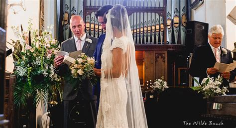 church wedding flowers  wilde bunch wedding blog