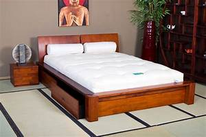 Lit Pas Cher 180x200 : lit en bois et lit japonais optez pour un lit original et pas cher ~ Teatrodelosmanantiales.com Idées de Décoration