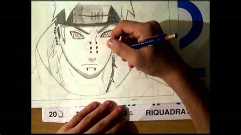 Come Disegnare Pain Akatsuki How To Draw Pain Akatsuki