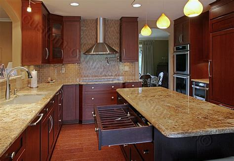 Modern Cherry Kitchen Cabinets  Designs Ideas And Decors