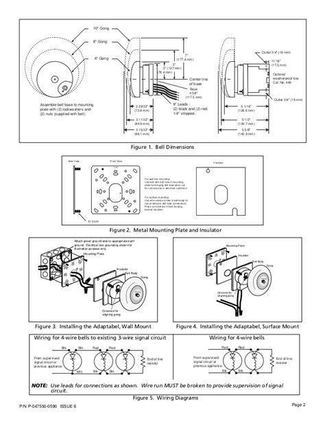 edwards signaling 439d 10aw installation manual
