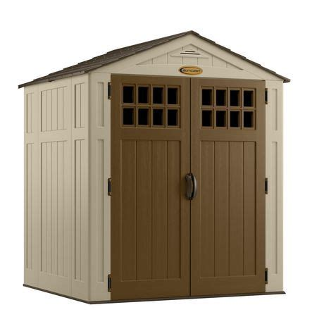 Suncast Cascade Shed Canada by Suncast 174 6 X 5 174 Storage Shed For Sale At Walmart