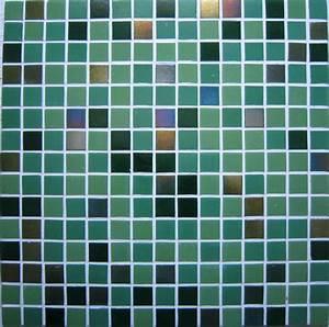 pates de verre 2x2cmvert et carreaux nacres carrelage With mosaique carreaux