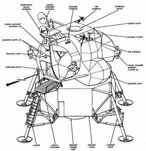 Apollo 11 Lunar Module Diagram (page 2) - Pics about space