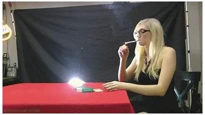 Laci Blonde Smoker Smokers Tall Usa She