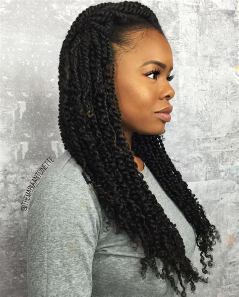 Different Hairstyles For Twists by 30 Twists Hairstyles To Try In 2018