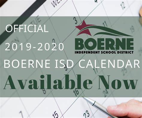 boerne isd official bisd calendar facebook