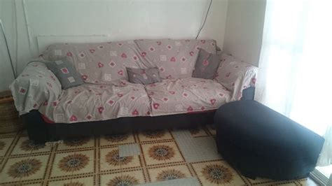 repose pied canapé canapé convertible avec repose pieds gris à djibouti