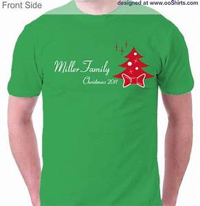 Christmas Design Ideas for Custom T Shirts