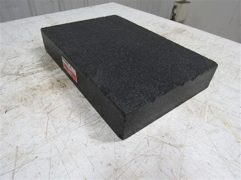 12 x 18 x 3 granite surface plate black ebay