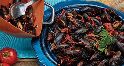 copperchef mussels marinara