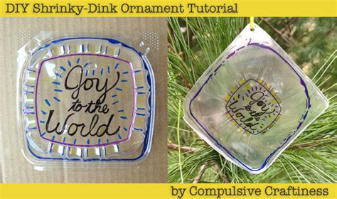 shrinky dink ornaments fun family crafts