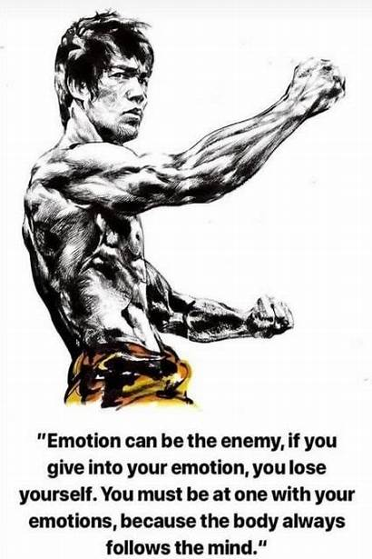 Bruce Lee Quotes Emotion Emotions Enemy Martial